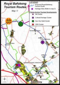 royal_bafokeng_tourism_route_map